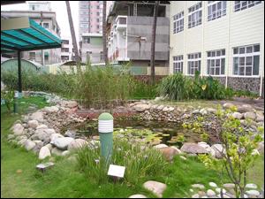 台南市光華中學人工濕地(教育部環保小組永續校園計畫)
