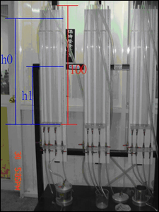 人工溼地場址土讓不透水係數量測