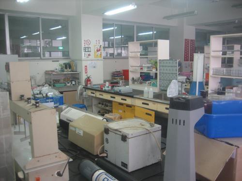 生態中心實驗室內部