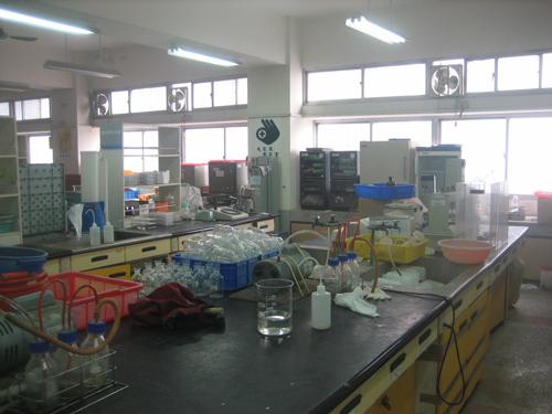 生態中心實驗室內部2